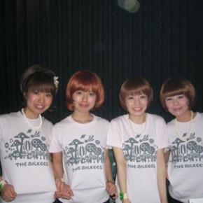 THE MILKEES きのこTシャツ