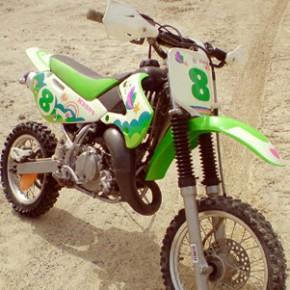 モトクロスガールズバイク