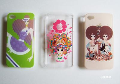 iphone4ケースNICO